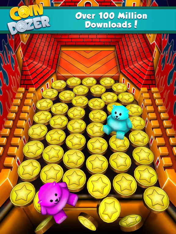 Screenshots of Coin Dozer for iPad