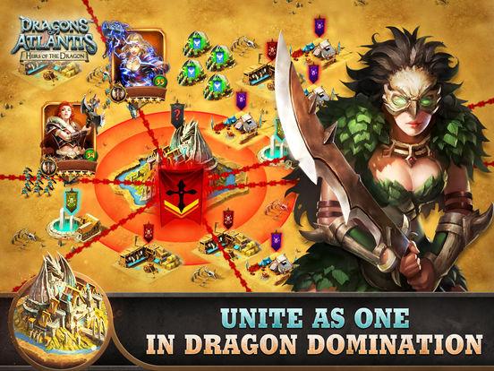 【策略手游】Dragons of Atlantis: Heirs of the Dragon