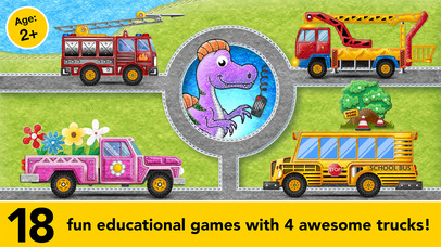 Learning Cars Educational Games for Preschool Kids screenshot 1