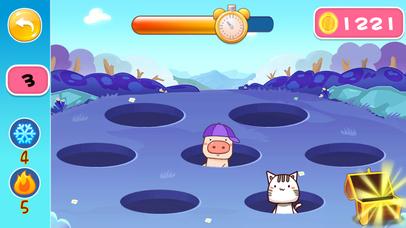 粉红小猪打地鼠-益智游戏 screenshot