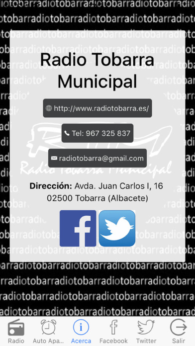 Radio Tobarra Municipal screenshot 2