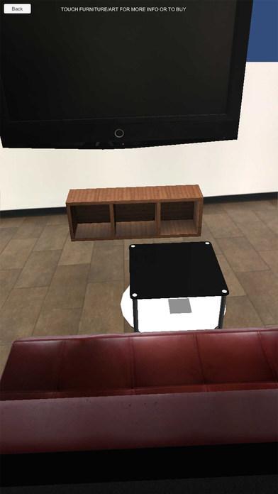 App shopper rentific virtual furniture business for Furniture app