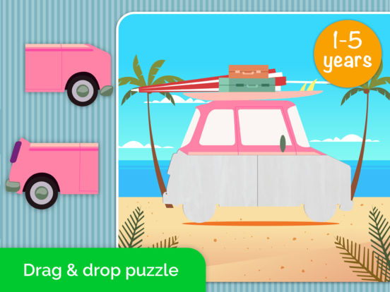 Cars,Planes,Ships! Puzzle Games for Toddlers. AmBa screenshot 6