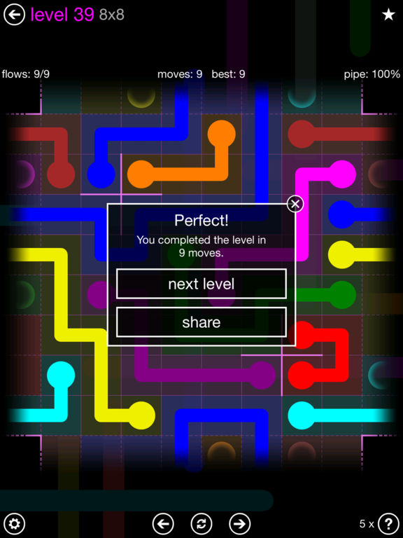Flow Free: Warps screenshot 8