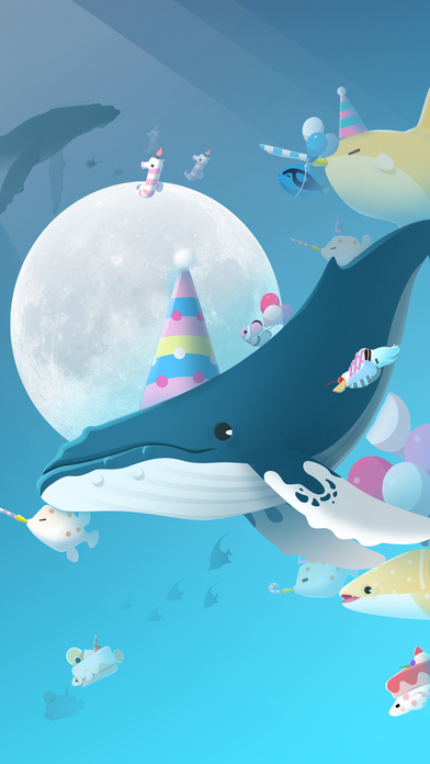 Tap Tap Fish - Праздник 1-й годовщины Screenshot