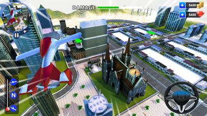 летающий робот Трансформация: реальный бой Боты Скриншоты5