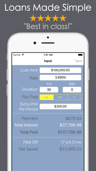 loan payoff early calculator