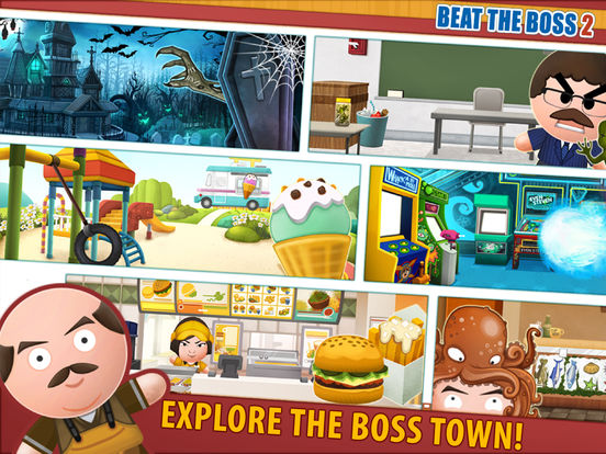 Screenshots of Beat the Boss 2 for iPad