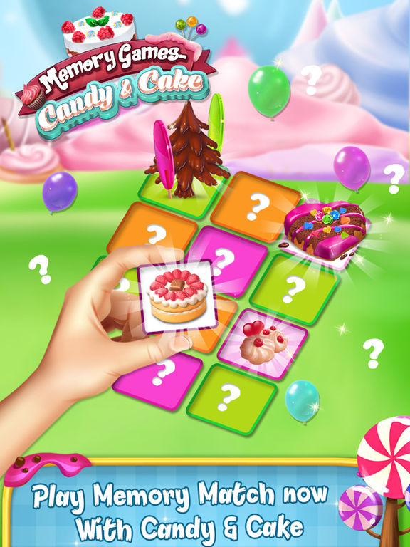 Memory Game : Cake and Candy screenshot 5