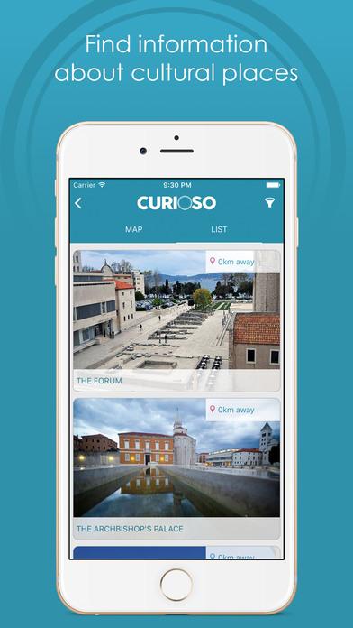 Curioso - Discover Zadar screenshot 4
