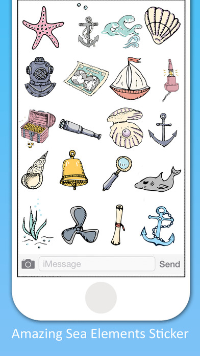 Sea Life Stickers screenshot 2