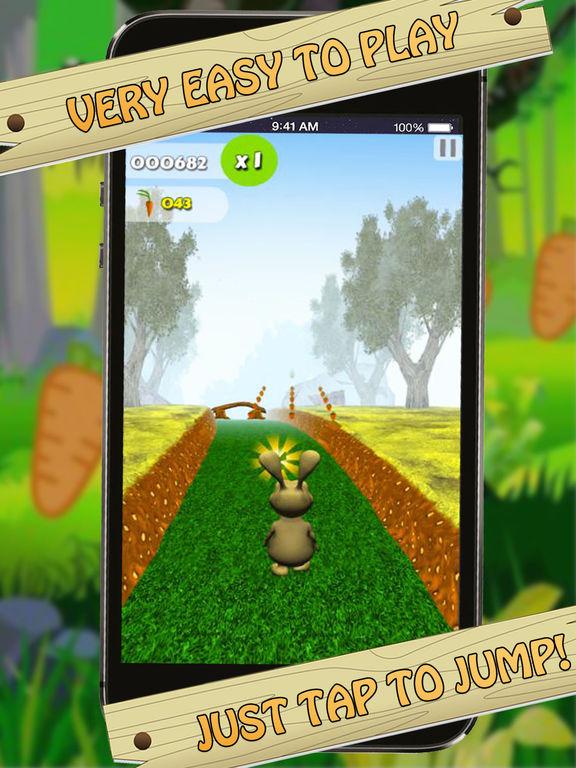 Bunny Jungle Run Adventure screenshot 8