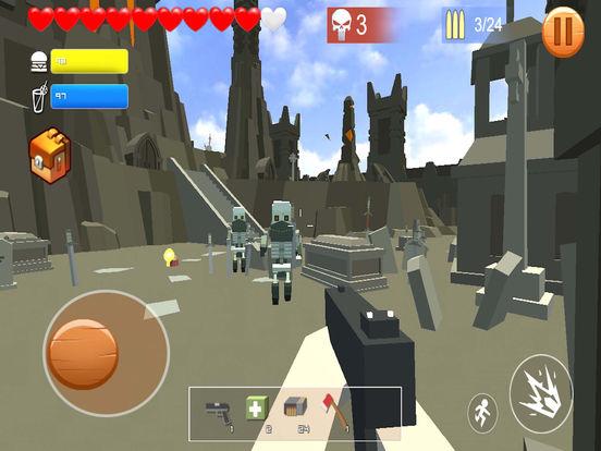 Pixel shooting zombie screenshot 10