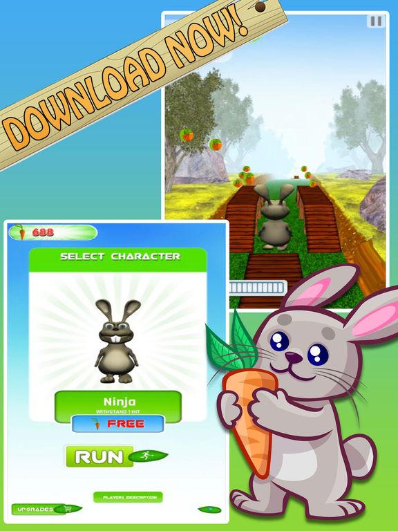 Bunny Jungle Run Adventure screenshot 10