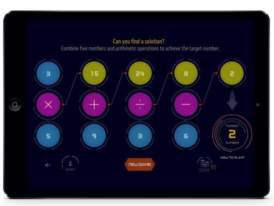 BrainBuilder : Challenging Math Puzzle Game Screenshot