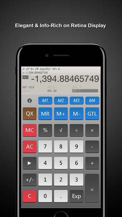CalcQX ~ the calculator Screenshots