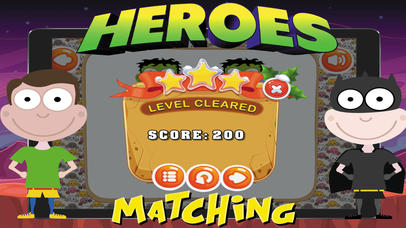 Super Heroes Card Matching screenshot 3