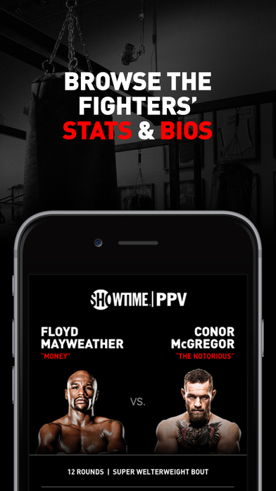 SHOWTIME PPV- Mayweather vs. McGregor- Stream Live screenshot 4