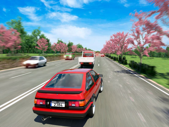 Japanese Road Racer Pro screenshot 5