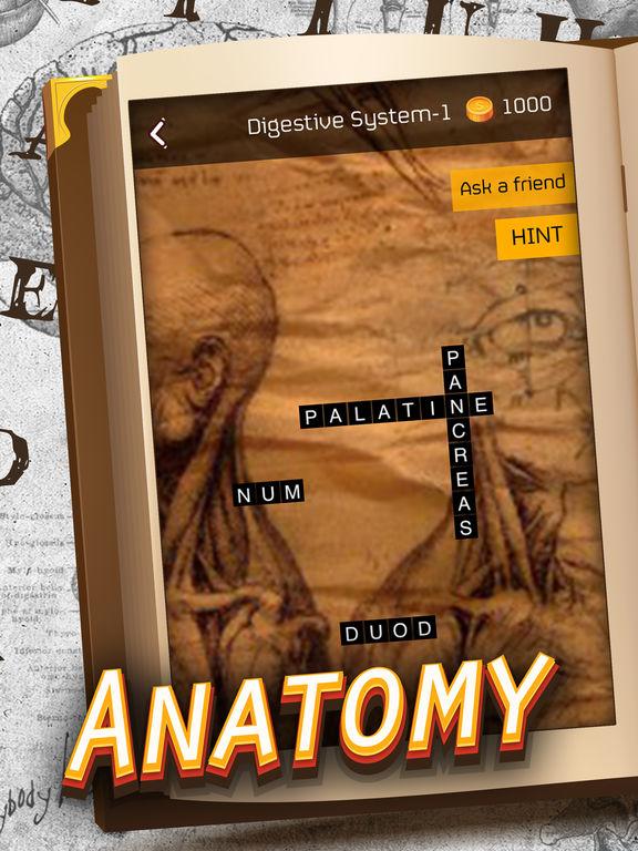 Anatomy Crossword Game Pro screenshot 3