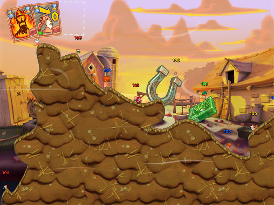 Worms3 Screenshots