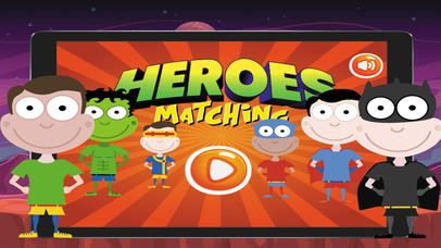 Super Heroes Card Matching screenshot 1