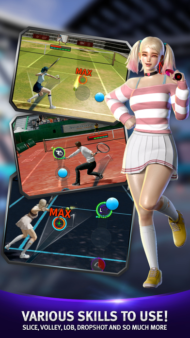 Ultimate Tennis Revolution Screenshot