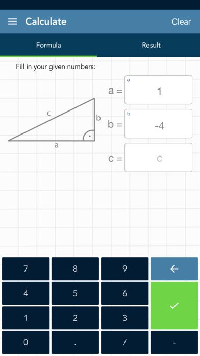 Solving Pythagoras PRO screenshot 1