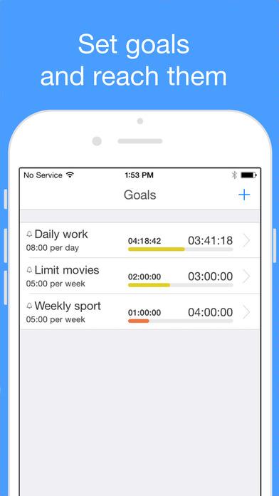 aTimeLogger 2 - Personal Time Tracker & Time Sheet Screenshots