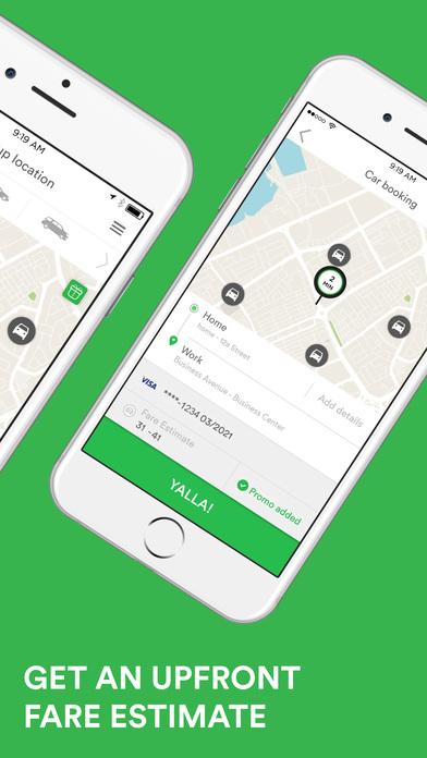 Screenshots of Careem كريم - Online Cab Booking App for iPhone