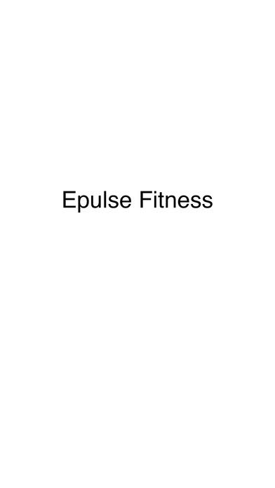 Epulse Fitness screenshot