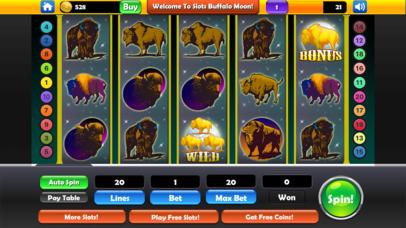 Screenshot 2 Slots — Buffalo Moon Casino Spins