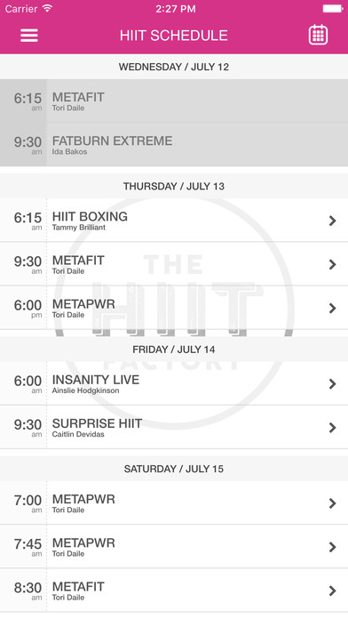 The HIIT Factory - Northcote screenshot
