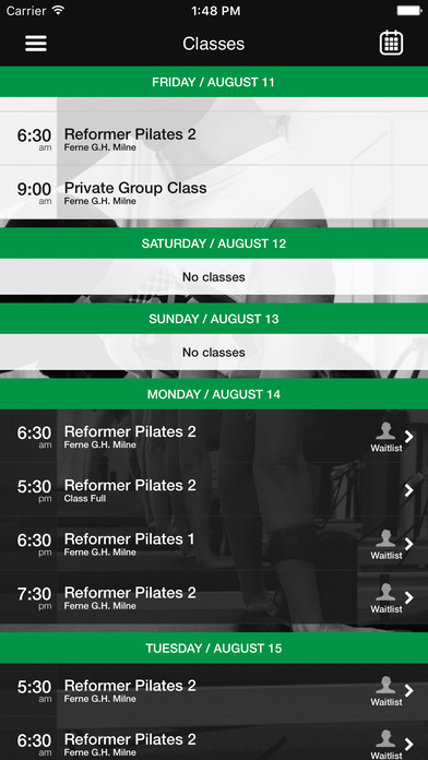 Pilates Suite NQ screenshot