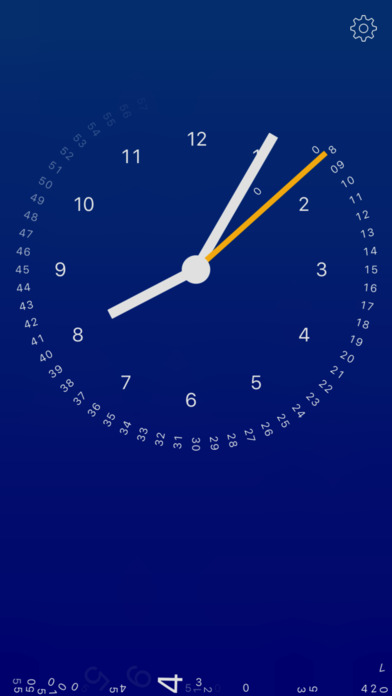 gravity clock Screenshots