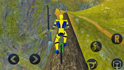 Spider Superhero Bicycle Riding: Offroad Racing screenshot 4