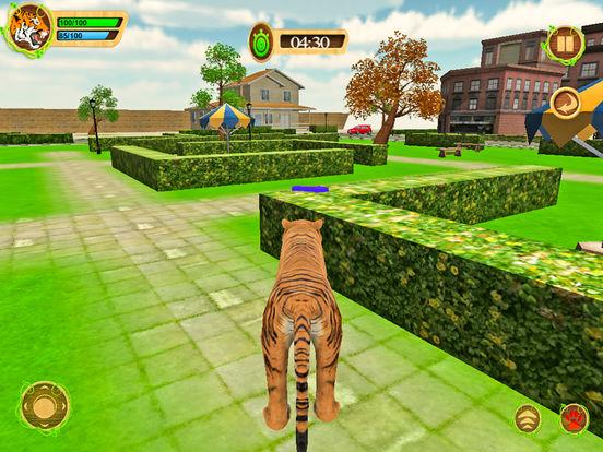 Wild Tiger Beast City Attack screenshot 6