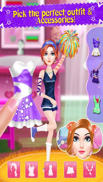 Cheer Leader Princess Salon PRO Screenshot 3