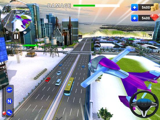 летающий робот Трансформация: реальный бой Боты Скриншоты6