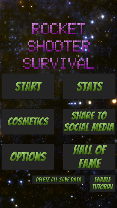 Rocket Shooter Survival screenshot 1