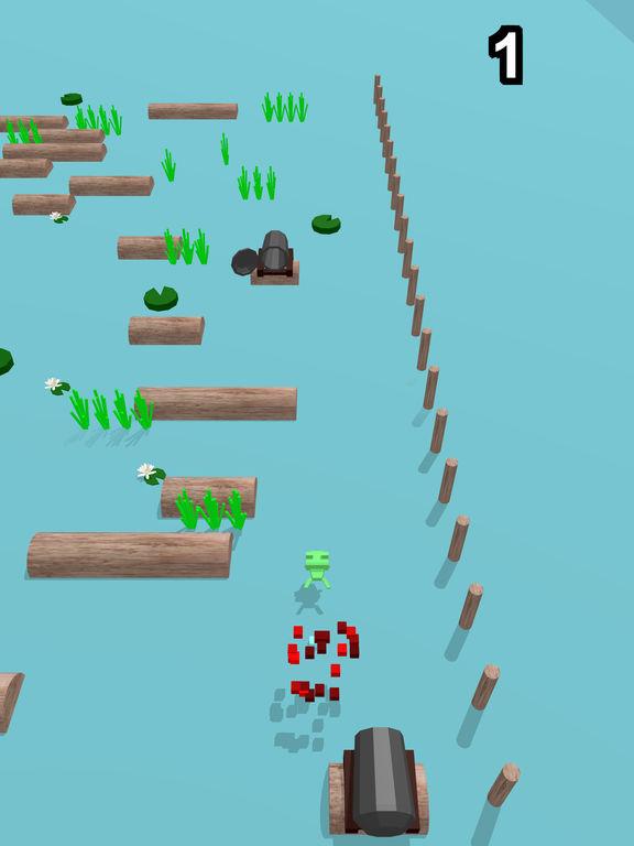 Lots of vigorous flowing logs screenshot 8