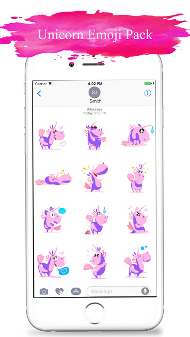 Feelings Unicorn Stickers screenshot 3