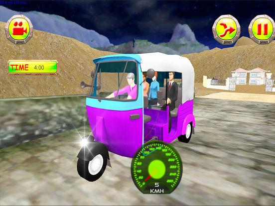 Xtreme Drive Tuk Tuk Rickshaw screenshot 8