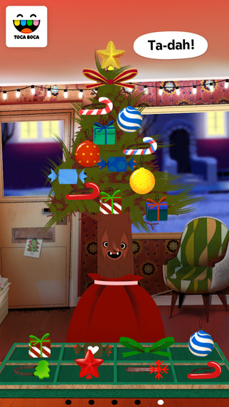 Toca Hair Salon - Christmas Gift Screenshots
