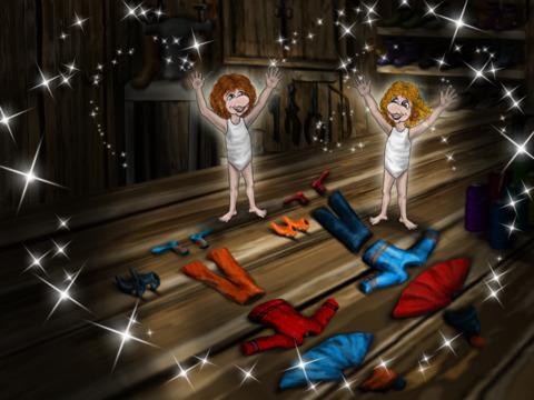 The Shoemaker and the Elves – An Interactive Children's Book screenshot