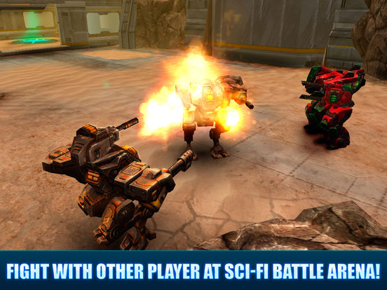 Battle MechWars PvP Full Screenshots