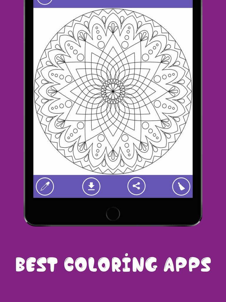 App Shopper Mandala Coloring Pages