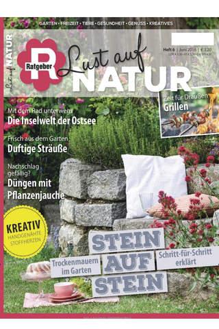 Lust auf Natur – epaper ist das kreative Magazin Garten, Freizeit und Gesundheit screen