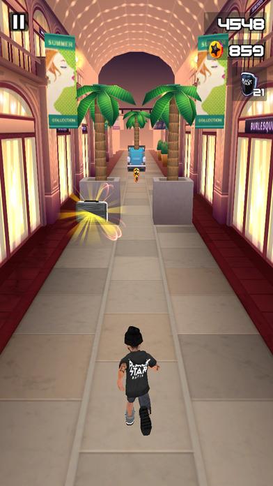 Black Star Runner Screenshot