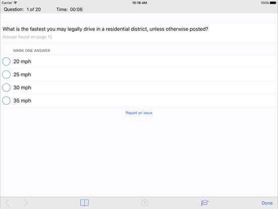 DMV Test Prep - New Mexico iPad Screenshot 3